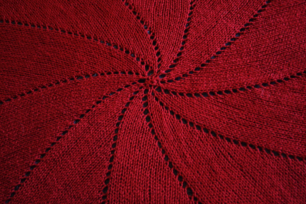 FO Roundup- Pinwheel Blanket & Azalea Doily