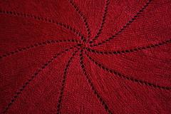 Pinwheel Blanket (Buxtrosion) Tags: knitting luna blanket pinwheel