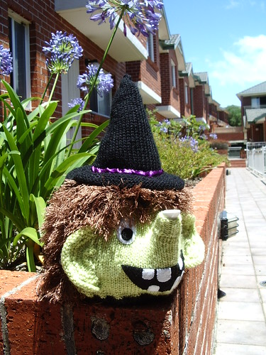 Witchy tea cosy