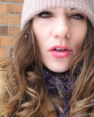 Day 23/365 - Snow Day (thephotographymuse) Tags: winter portrait people woman selfportrait snow cold me girl weather female scarf self ego hair outdoors snowflakes interestingness interesting midwest seasons magic creative longhair indiana marcy portraiture brunette browneyes chill fishers headandshoulders thirtysomething wintery pinklips bundledup 365days 30something waman i mywinners sockcap marcykellar thephotographymuse