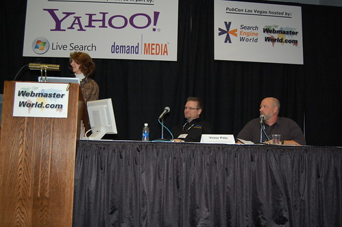 Domain Round Table Session at PubCon 2007