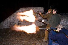 Extreme Muzzle Flash (ErikHalfacre) Tags: alaska fire gun kick flames flash flame guns shotgun carhartt worldpeace remington shotguns maverick firingsquad firepower mossberg doublebarrel 12gauge recoil muzzleflash assaultweapon ptmckenzie twelvegauge pointmckenzie erikhalfacre brandongoodrich donsundgren
