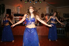 The belly dancing show was very entertaining. (12/06/2007)