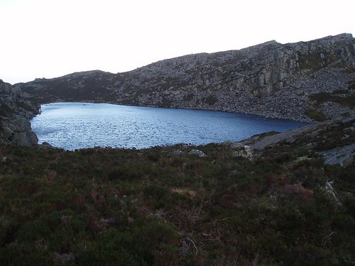 Llyn Du from the West