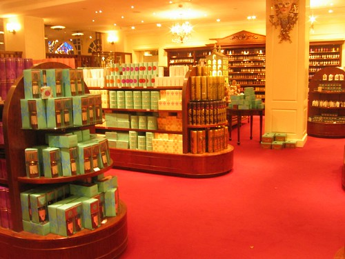 London - Fortnum & Mason inside store 3