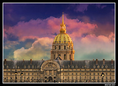 the Invalides in Paris (*bratan*) Tags: paris france architecture canon gold golden bravo searchthebest invalides dome napoleon magicdonkey infinestyle brilliant~eye~jewel powershotg9 thegardenofzen merrychristmasdearfriend seeyoulaterkisses