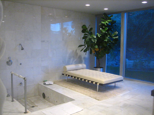 Master Suite bathroom at the Cody House
