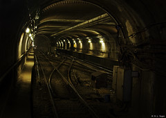 Grand Avenue Station (rjseg1) Tags: chicago station train underground subway cta tracks grand transportation segal pentaxk10d