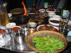 Samgyeopsal (Grilled Pork Belly)