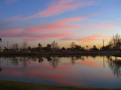 (runningdog) Tags: park arizona urban lake bend indian sunsets wash scottsdale