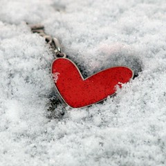 Cold heart (killydoon) Tags: snow coldheart encarnado warmheart