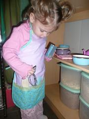 Homemade apron