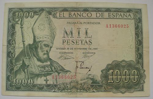 Mil Pesetas (1965)