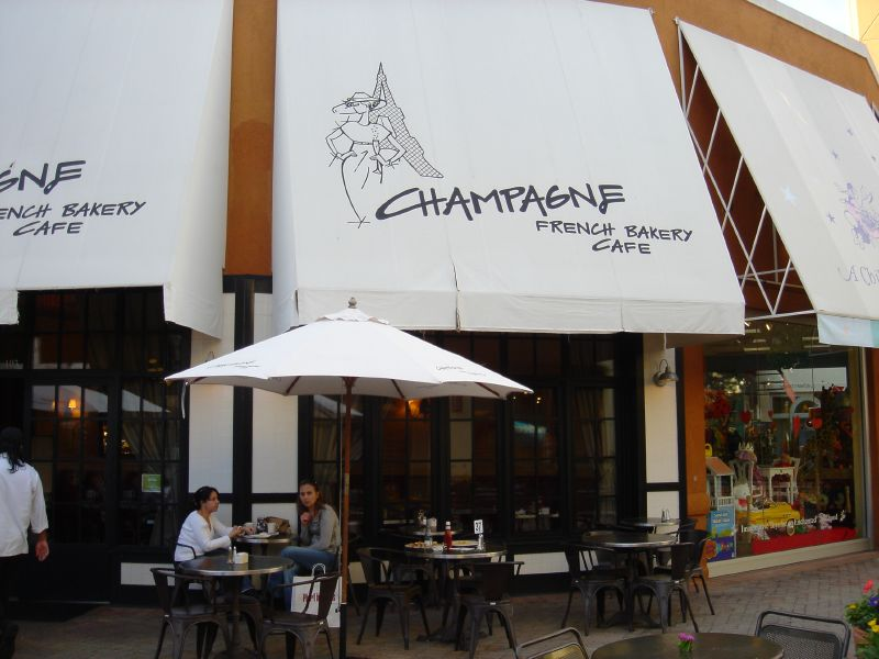 Champagne French Bakery & Cafe, Corte Madera