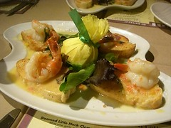 Shrimp Crostini