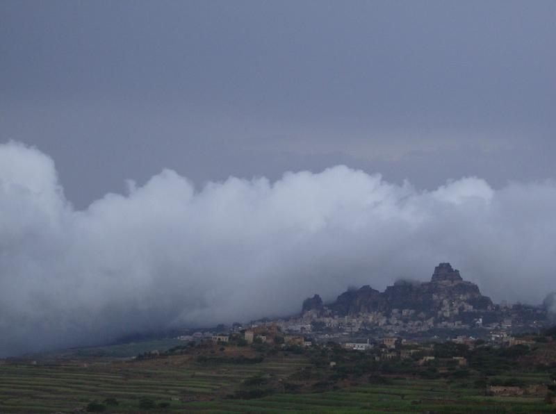 محافظة المحويت تكسوها المدرجات الزراعية وواسعة
