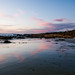 Reflected Sunset at Asilomar