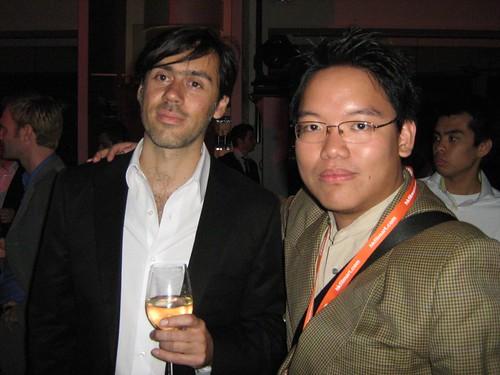 Emmanuel Mouret and I