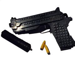 Handgun (Battledog) Tags: life gun lego 11 handgun sized