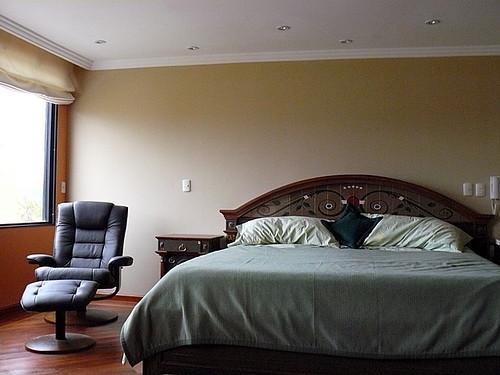 Cuenca condo master bedroom