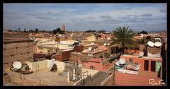 PARABLICAS (masaimanta) Tags: africa travel viajes maroc marrakech marruecos antenas magreb parablicas lakoutoubia