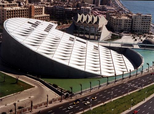 Actual Biblioteca de Alejandrá