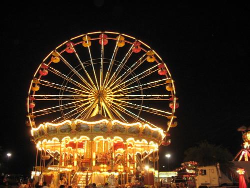 Ferris Wheel & Carousel
