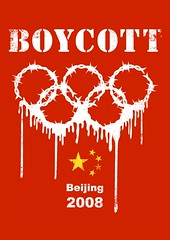 Boycott Beijing 2008 Olympic Games (by 8jin_design)