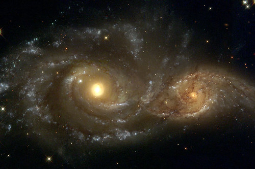 Spiral Galaxies in Collison