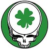 Grateful Dead Steal Your Face - shamrock design for Boston