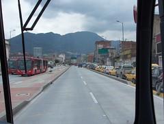 colombia bogota traffic transit commute masstransit congestion sustainable brt carfree busrapidtransit transmilenio articulatedbus quickways