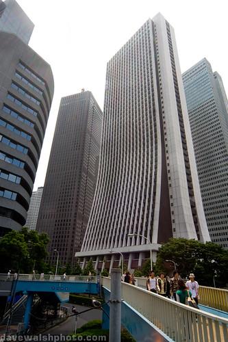 Shinjuku Skyscrapers - Sompo Japan Head Office, Tokyo