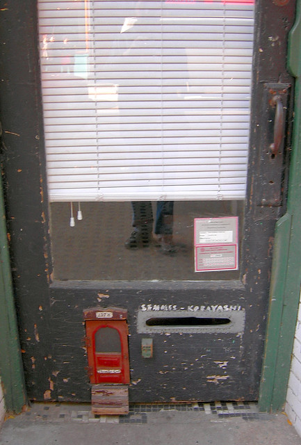 Nolita (Thomas the cat's door)