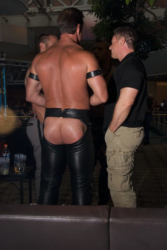 ass less leather chaps