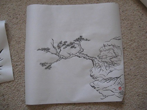Pine Tree on a cliff