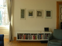 Prints and sideboard (James Benedict Brown) Tags: art ikea print table frames furniture glasgow lounge books livingroom queenspark frame prints mitchell crawford sideboard govanhill expedit crosshill crawfordmitchell