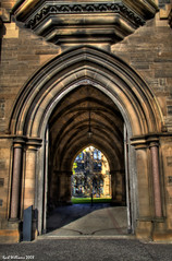 The Archway (Shuggie!!) Tags: architecture scotland university williams glasgow karl hdr orton explored abigfave citrit theunforgettablepictures stealingshadows damniwishidtakenthat novavitanewlife karlwilliams