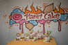 The class's effort with all different colours of exploding cakes (joyceandjessie) Tags: cakeclass