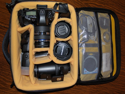 Camera bag: Kata OC-82 Interior
