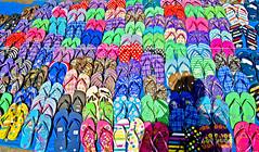 Hail, The Flip Flop Queen (frigidcow) Tags: fake havaianas manila flipflops cheap pleasure bargain d40