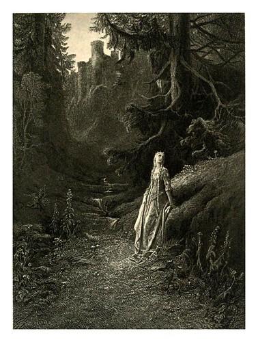 016-Lancelot y Elaine-Work vol 5 1909- Alfred Tennyson