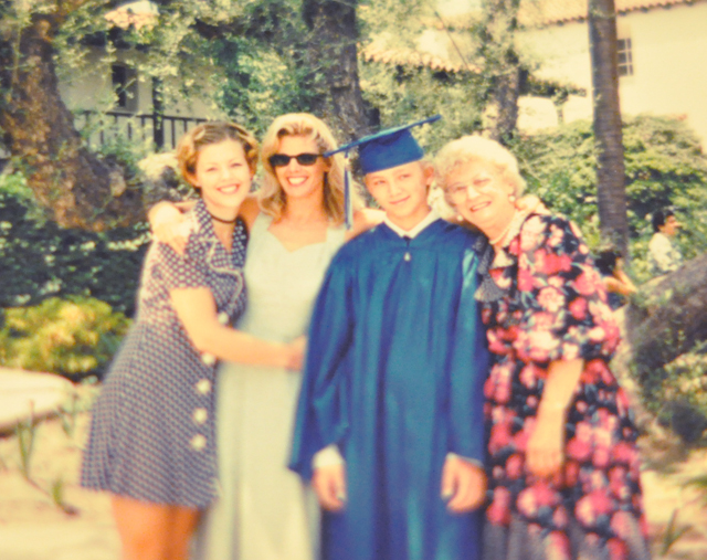 1996 style -bros grade school graduation