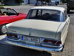 Mercedes-Benz 220S W111 (The Adventurous Eye) Tags: show classic s brno mercedesbenz autosalon 220 w111 2011 220s carscarscars