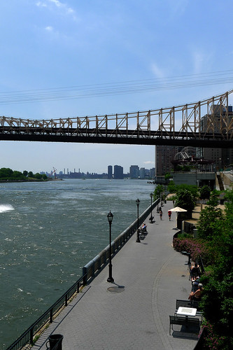 Manhattan River Side Cycling
