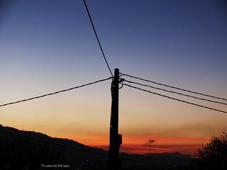 Ilunsentia. Sunset. Atardecer. Arangoititik. From Arangoiti. Desde Arangoiti. Bilbo. Bizkaia. Euskal Herria (Basque Country-Baskenland). 2014.02.06