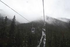 8 minutes (bettybl) Tags: canada cabin tour cablecar gondola sulphurmountain banffnationalpark canadianrockies banffgondola