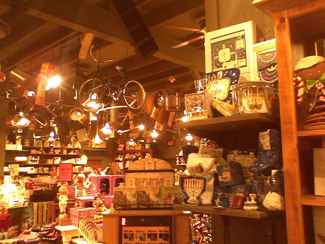 Hanukkah stuff ... in Cracker Barrel?