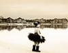 (mylaphotography) Tags: lake reflection mi tutu frozenlake rahi childphotography jaber 2470mm 40d mylaphotography fairytalephotography