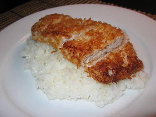 Tonkatsu (Japanese Pork Cutlet) on Closet Cooking