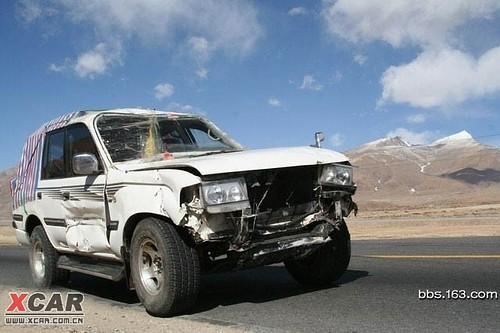 9. 車從青藏公路返回